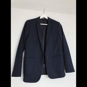 topshop, navy blazer